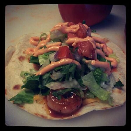 Crabby Chris Shrimp Tacos