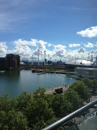 Crowne Plaza London - Docklands: View from the room!!!