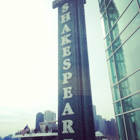 Chicago Shakespeare Theater on Navy Pier: Outside the Main Hall