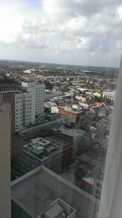 New Orleans Marriott : View from 26th floor