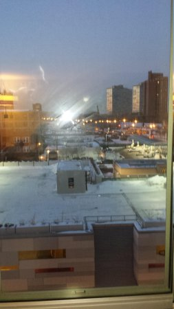 Hyatt Place Chicago-South/University Medical Center: View from our Room