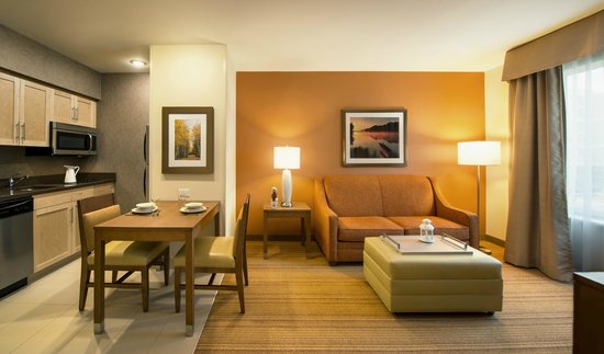 Homewood Suites by Hilton Winnipeg Airport-Polo Park, MB: Comfortable and convenient lounges in rooms