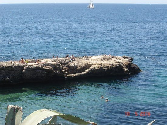 Bendinat Hotel: swimming from the rocks