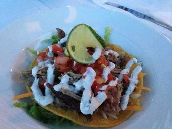 Beachside Bistro: Pulled Pork Tostada