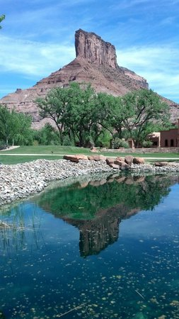 Gateway Canyons Resort, A Noble House Resort: Palisade from the Resort