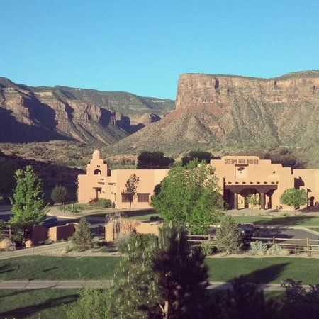 Gateway Canyons Resort, A Noble House Resort: Private Auto Museum from our room