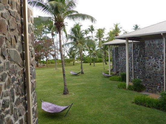 Kempinski Seychelles Resort : Aussicht vom Balkon