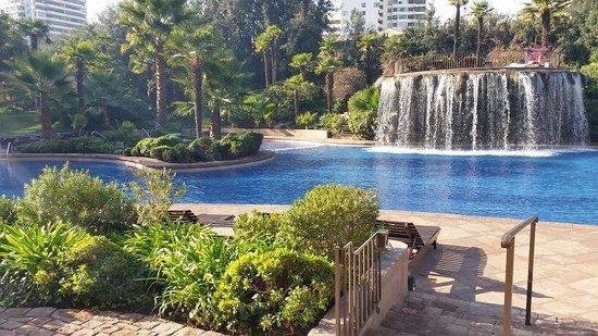 Hotel Santiago: Nice pool area.