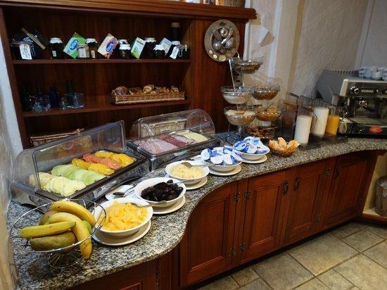 La Barbarie Hotel: Breakfast