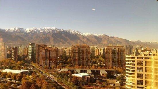 Hotel Santiago: Vista da Cordilheira dos Andes!