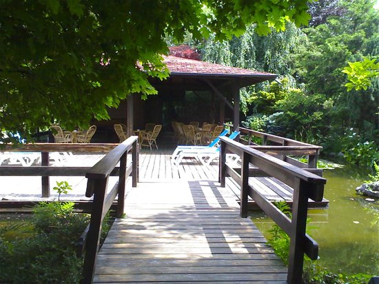 Parc Hotel Casa Mia: giardino giapponese