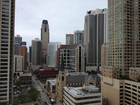 dana hotel and spa: Balcony view, 18th floor