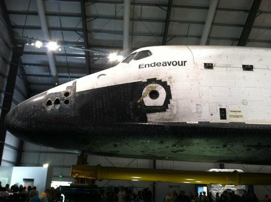 California Science Center: Space Shuttle Endeavour
