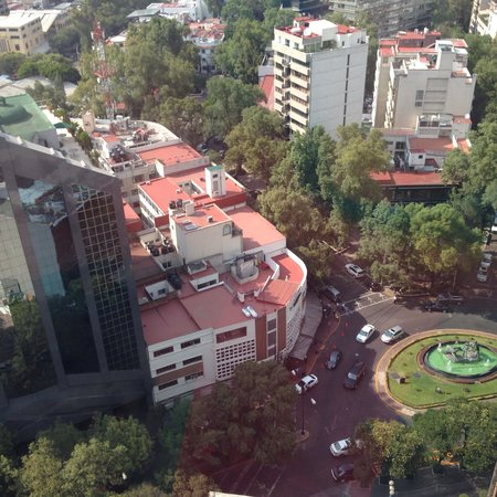 InterContinental Presidente Mexico City: View from a noisy room