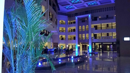 Steigenberger Al Dau Beach Hotel: lobby/reception area