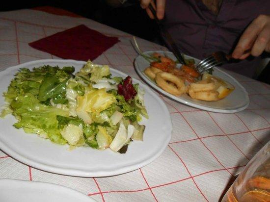 La Rustichella: frittura gamberi e calamari
