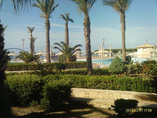 Ostria Resort & Spa : Vue de notre chambre