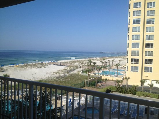SpringHill Suites by Marriott Pensacola Beach: View from pool side room
