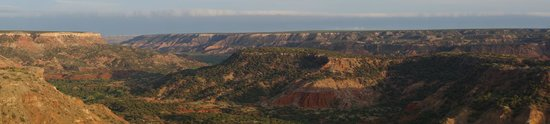 Palo Duro Canyon State Park : CCC Trail View