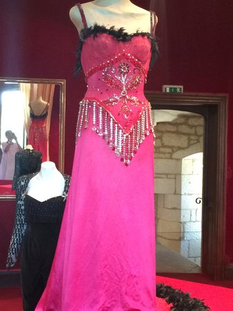 Chateau des Milandes: another dress for entertaining