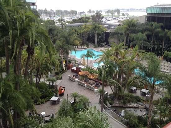 Marriott Marquis San Diego Marina: Pool area