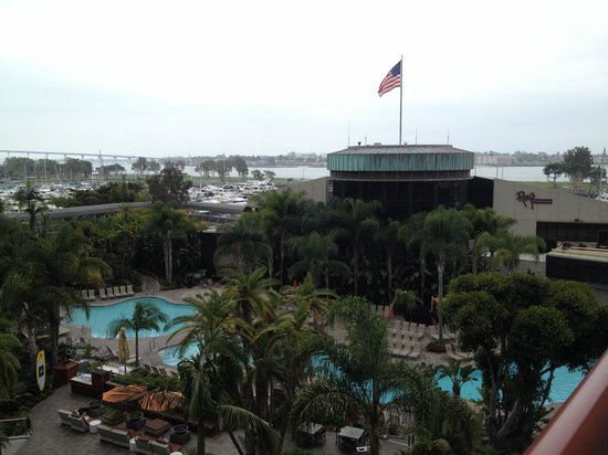 Marriott Marquis San Diego Marina: From the room balcony