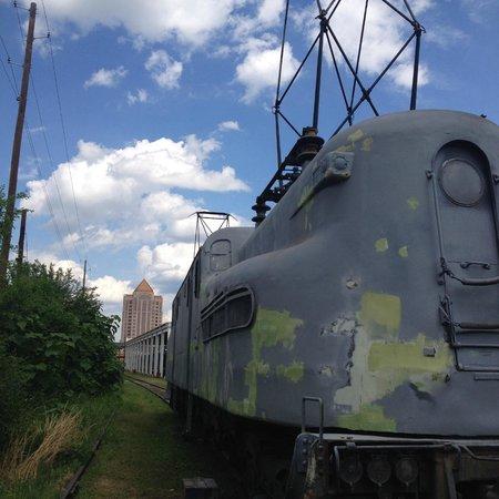 Virginia Museum of Transportation : In the railyard