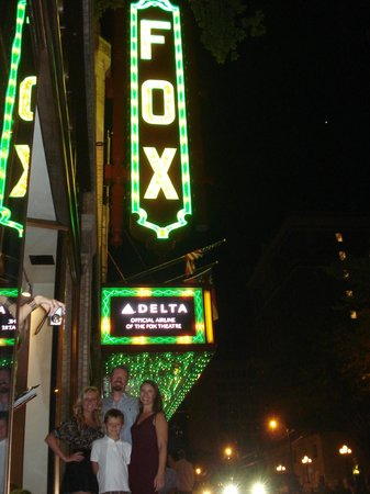 Fox Theatre: Family Time at The Fabulous Fox!