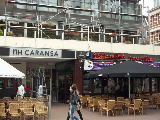 NH Amsterdam Caransa: from the Plaza
