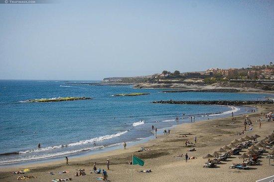 HOVIMA Santa Maria: пляж Торвискас - более открытый для волн, чуть подальше вправо от отеля.