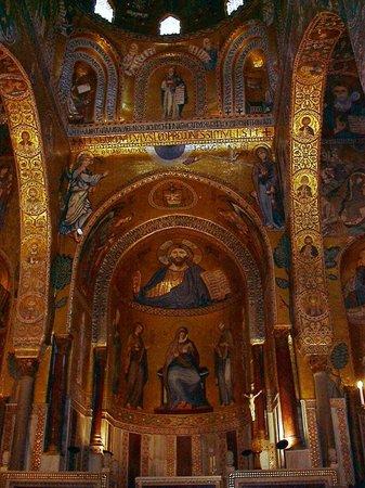 Palazzo dei Normanni: mosaici