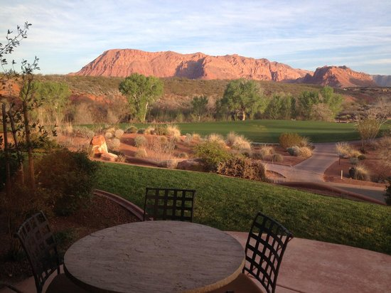 The Inn at Entrada: Casita patio view