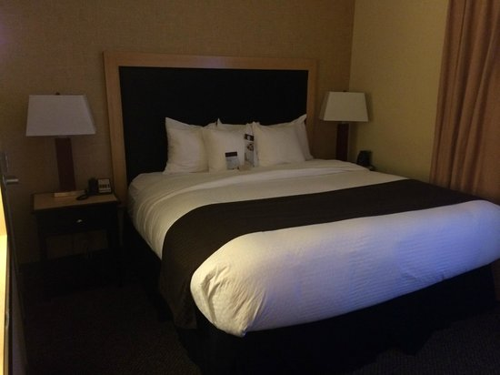 DoubleTree by Hilton Hotel Baton Rouge: Bed area
