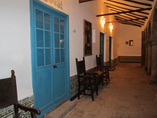 San Agustin Monasterio de la Recoleta Hotel: hallways to room
