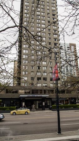 Century Plaza Hotel & Spa : The hotel tower