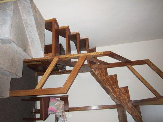 San Agustin Monasterio de la Recoleta Hotel : stairway