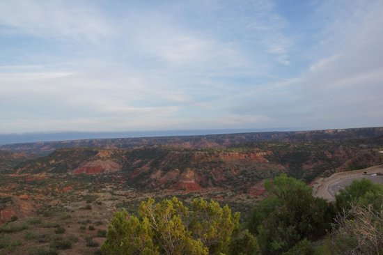 Palo Duro Canyon State Park : Scenic Overlook @ Visitors Center