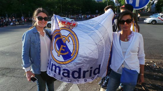 Meliá Madrid Princesa: allez Madrid  !!!