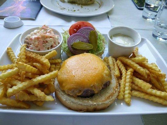 ABC Restoran: Best burger in town (as specified in the menu)