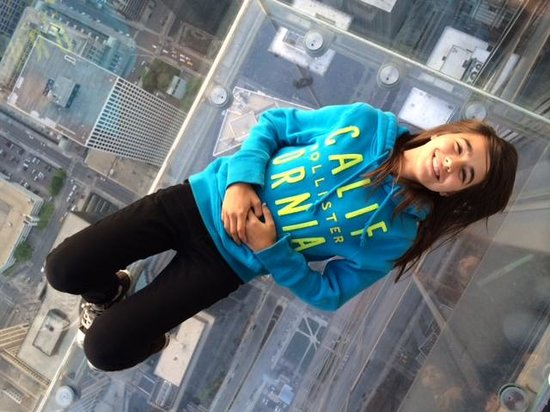 Skydeck Chicago - Willis Tower : SkyDeck!
