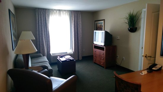 Homewood Suites St. Louis-Riverport: Living Room