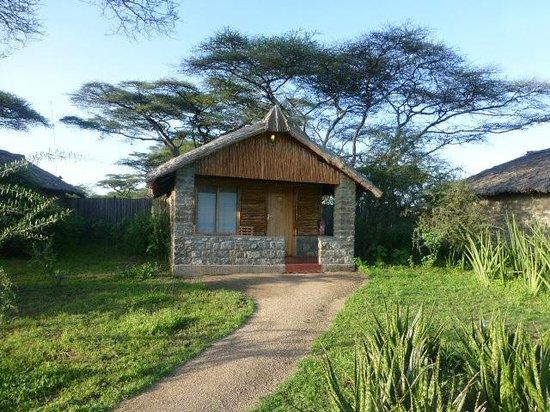 Ndutu Safari Lodge: Bungalow with private veranda?