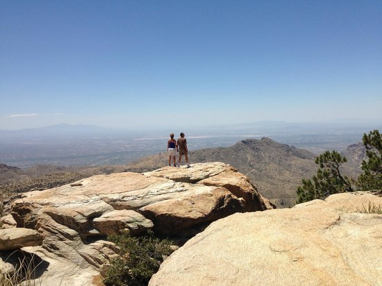 Mt. Lemmon Scenic Byway: At Windy Point