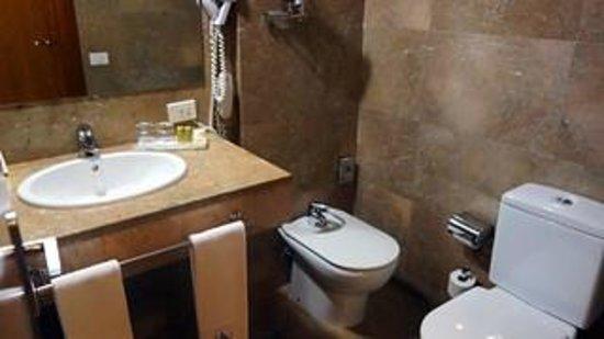 Eurostars Toledo : salle de bains