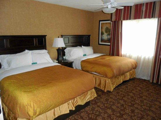 Homewood Suites Syracuse/Liverpool: Second Bedroom - twin Queen beds