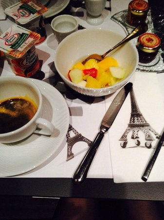 Angely Hotel : завтрак