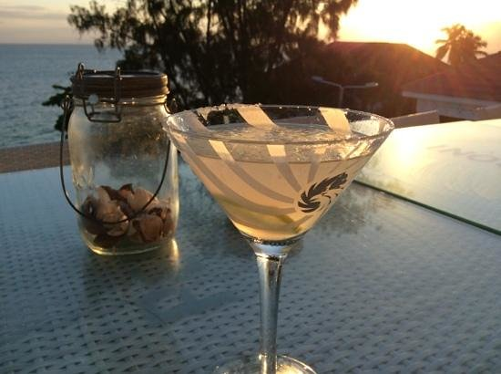 6 Degrees South Grill and Wine Bar: The perfect sundowner location...