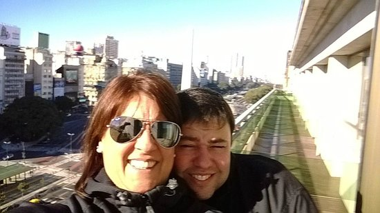 NH Buenos Aires Tango : Salida a terraza hacia 9 de Julio