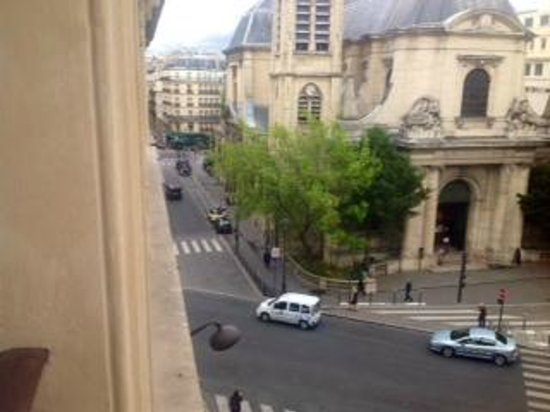 Agora Saint Germain: the view from our fourth floor room