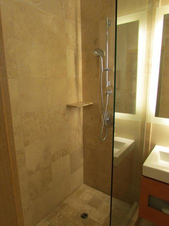 Hyatt Regency Monterey Hotel and Spa on Del Monte Golf Course: Shower